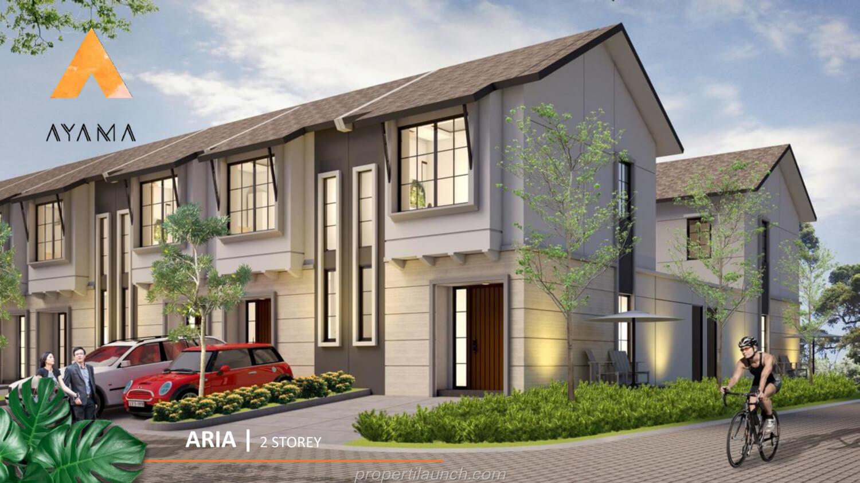 Rumah Ayama Tangerang Tipe Aria
