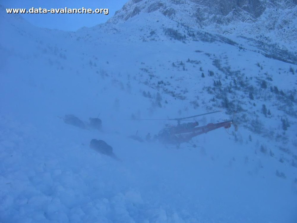 Avalanche Oisans, secteur Mont de Lans, Draières - Photo 1