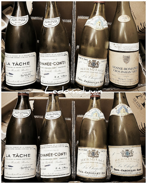 Discarding expensive empty bottles of wine by and for ©LeDomduVin 2021 (6)