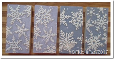Domino Christmas Decorations