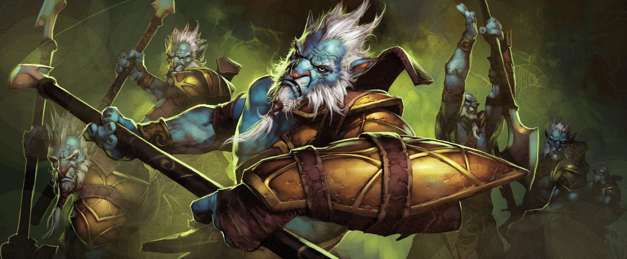 Loạt ảnh nguyên họa của các hero trong DotA 2 - Ảnh 18