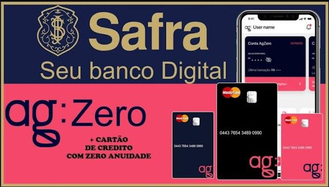 Ganhe de R$ 100 a R$ 700 abrindo sua conta no banco Digital AgZero