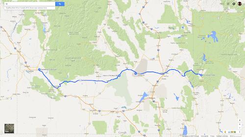 06 Roadtrip West VS en Canada 2014, Boise naar Jackson Hole.png
