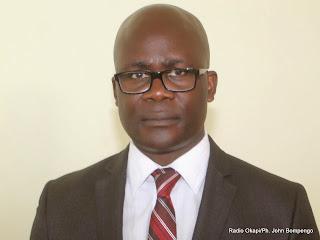 Jean Lucien Busa, député de la RDC. Radio Okapi/Ph. John Bompengo