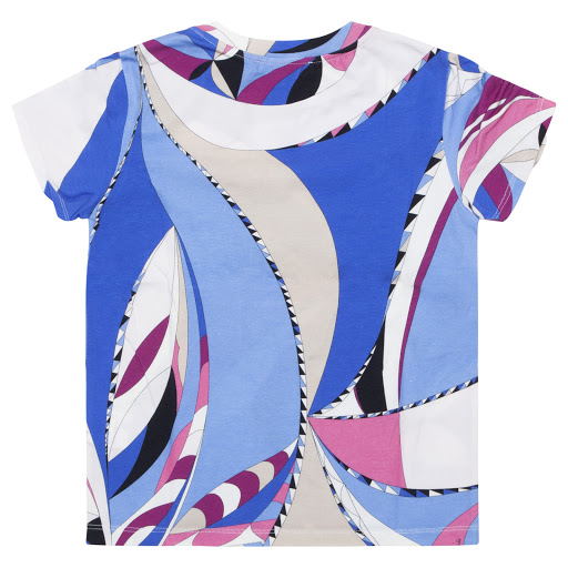 Thumbnail images of Emilio Pucci Patterned Cotton T-shirt
