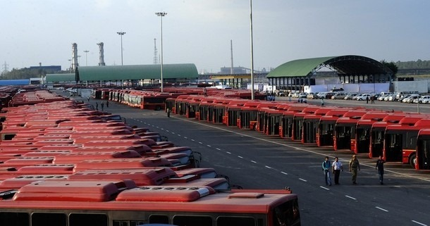 World's Largest Bus Depot - Millennium Park Delhi 2