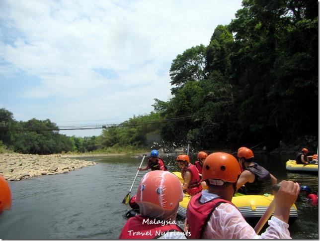 馬來西亞沙巴 九如河泛舟 溜索 (12)