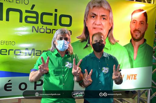Convenção homologa Inácio Nóbrega e Cícero Maciel para disputar prefeitura de Amparo nas eleições 2020