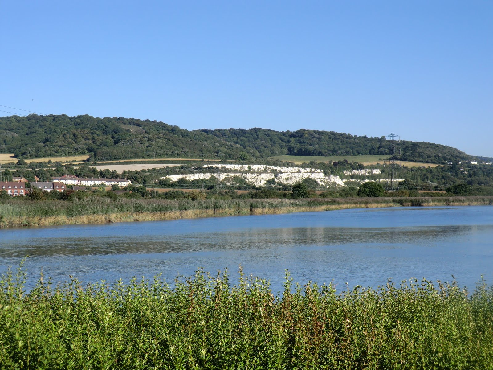 CIMG3959 River Medway at Halling