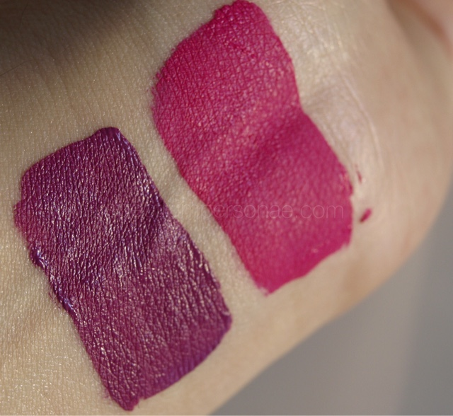 Anastasia Beverly Hills - swatches Madison (L) Rio (R)