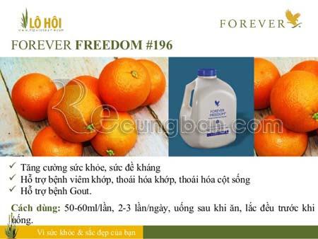 Nước uống dinh dưỡng Forever Freedom ®  MS196