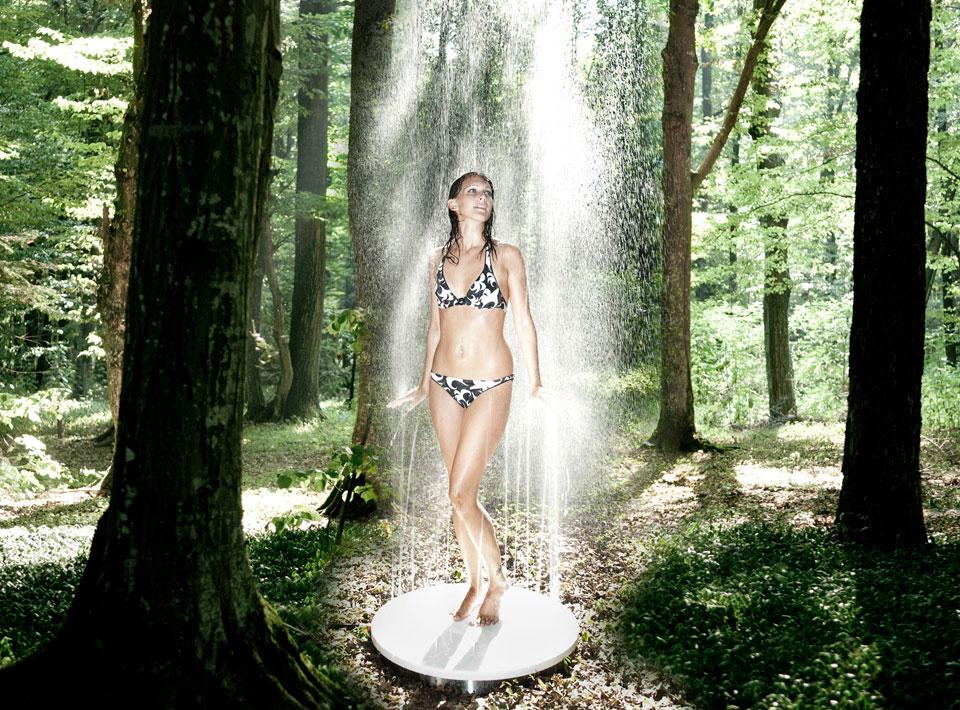 *VITEO Shower 戶外淋浴台:彷彿像夏雨輕輕灑落! 4