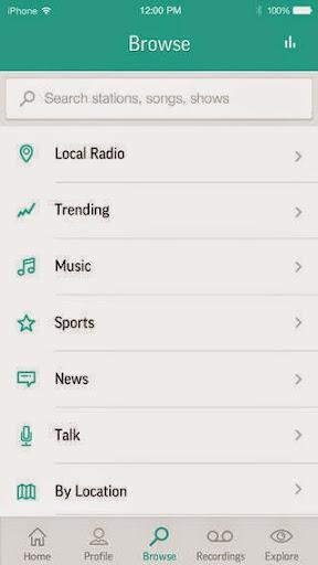 TuneIn Radio Pro v6.3 for iPhone/iPad