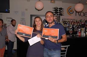 Antonio Reyes Medialdea y Carolina Luque Padilla, Campeones del CAMPEONATO APERTURA