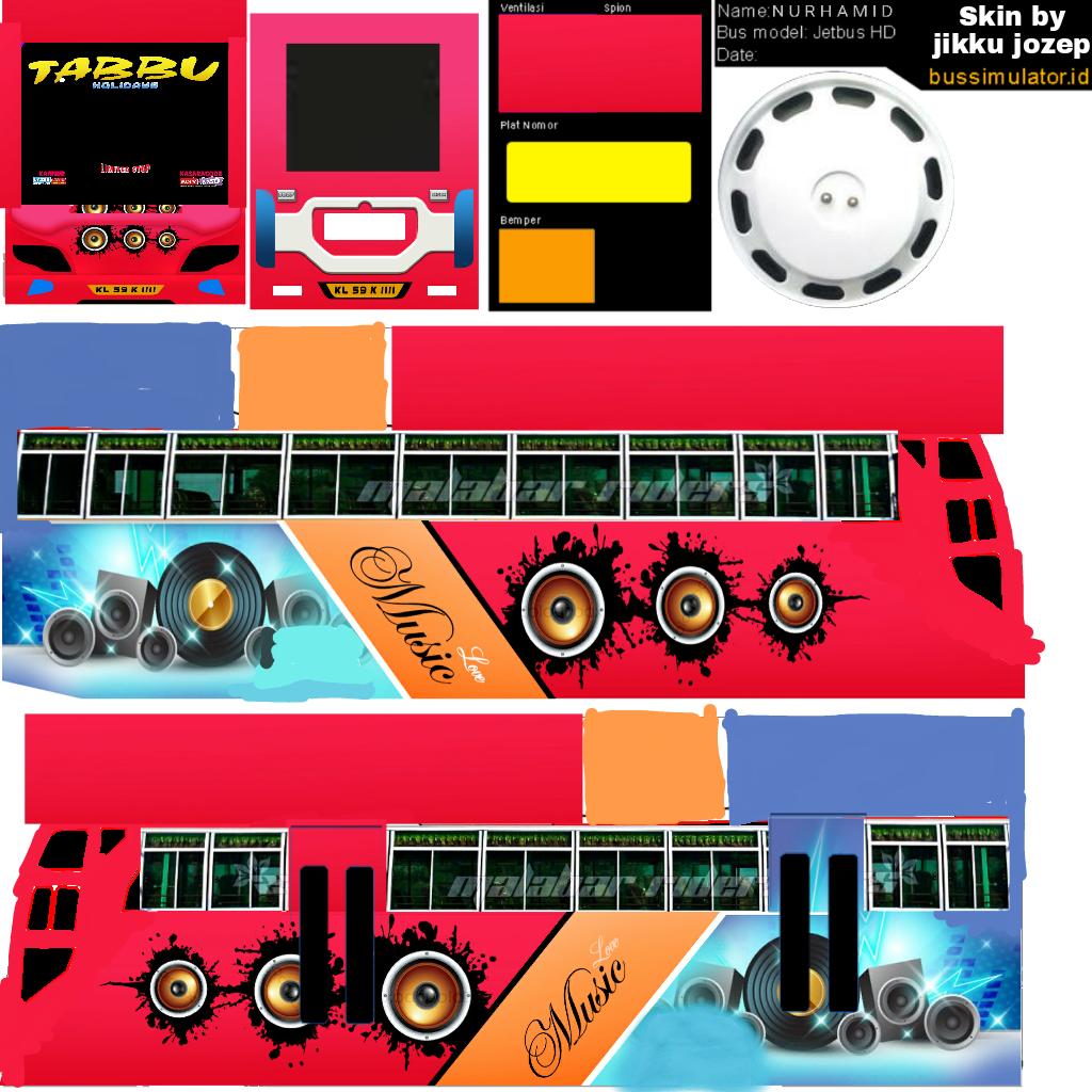 Bussid kerala: Tabbu livery