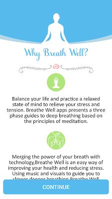 Breathe Well - screenshot