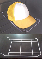 BRACKET - CAP AND HAT HOLDER
