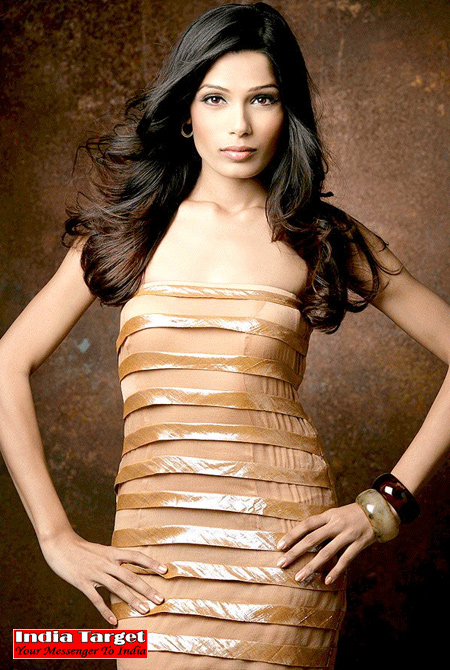 Freida Pinto Wallpapers(dress for girls-4photos)4