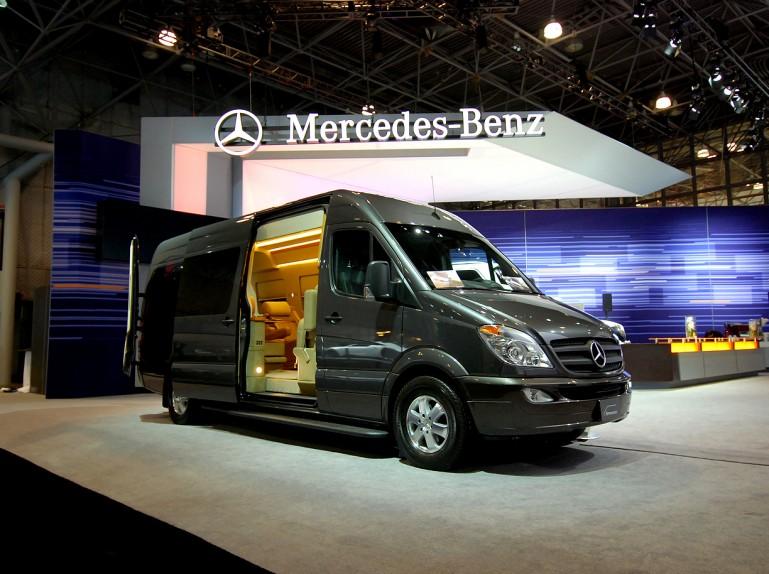 Sameera39s Blog MercedesBenz Sprinter Van Outfitted Like