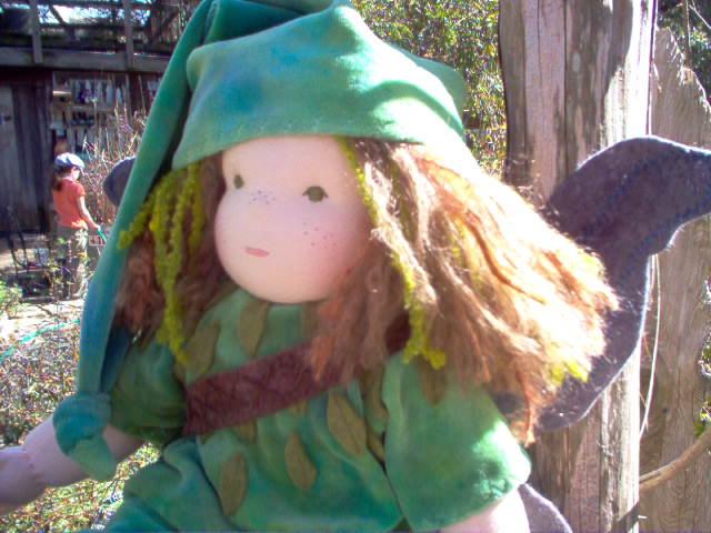 """Elf Boy 16"""" Waldorf Doll"""