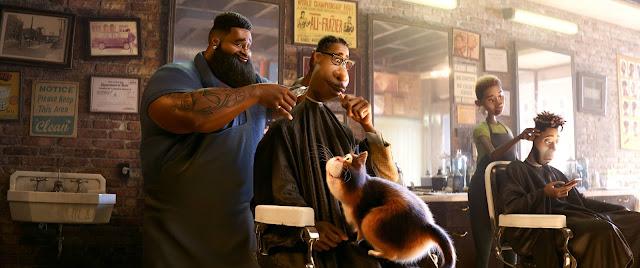 Pixar Soul Barber Shop