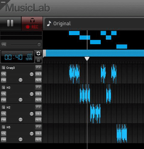 Crear música online con Looplabs
