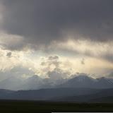 Kara Say : vue vers le Nord et le Terskey Alatau, 10 juillet 2006. Photo : J.-M. Gayman