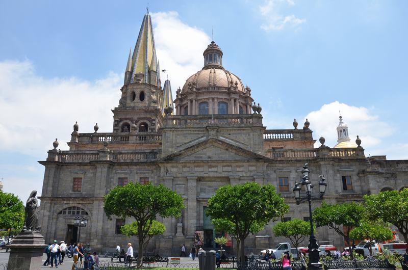 Lateral Catedral de Guadalajara