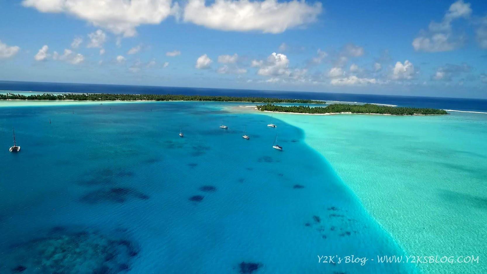 Drone View - Ancoraggio Sud e pass sullo sfondo.