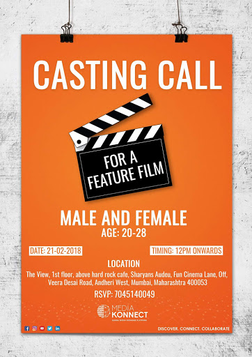 Casting Call For New Hindi Movie