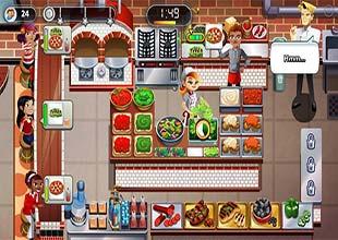 لعبة مطعم وطهي الاكل