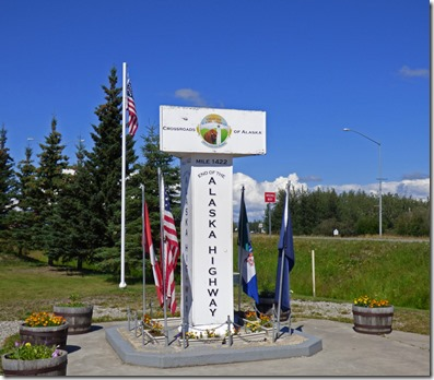 Delta Junction, End of Alaska Highway