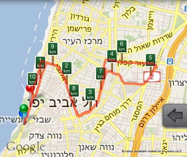 מרתון ג'ילט מרץ 2012 תל אביב