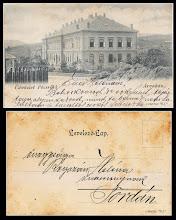Photo: Ungaria - 1900 - cca. - arvahaz - colectie Remus Jercau   vezi pe net: http://www.akpool.co.uk/postcards/26207191-postcard-veszprm-weissbrunn-ungarn-david-arvahaz-es-temetoehegy-varosresz-waisenhaus   http://helytortenet.com/sepsiszentgyorgy-1912-arvahaz-regi-kepeslap