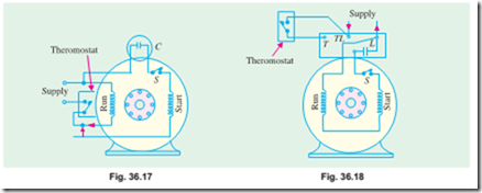 Single-phase motors:Types of Capacitor–start Motors ... on