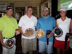 1st Place Afternoon: Steve Stowe, Clay Houser, Matt Kirklin, Kyndal Rose
