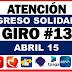 ¿Cuándo llegará el pago de abril del Ingreso Solidario?