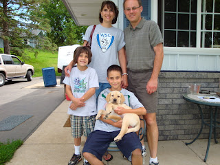 "Baby ""Ginger"" with her new family.Woodbury, MN"