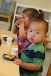 LePort Montessori Preschool Toddler Program Huntington Pier  snack time