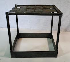Photo: John's woven-top table