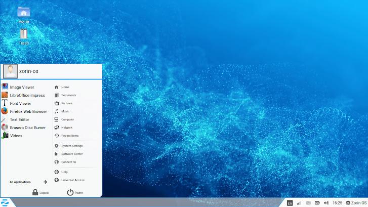 Zorin OS XP UI