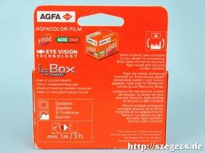 AGFA Vista film van benne!