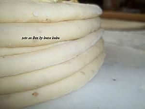 Pâte au lait fermenté préparation 3