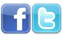 Logos Facebook i Twitter