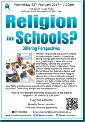 Religion in Schools 22 February 2017