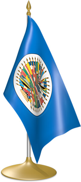OAS table flags - desk flags