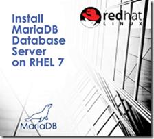 Install MariaDB Database Server on RHEL 7