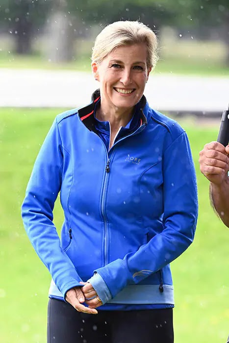 Lycra-clad Countess of Wessex Takes Part in London Bike Ride for Charity
