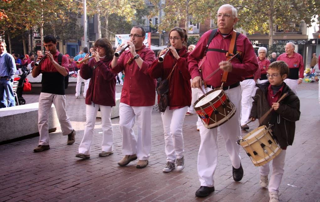 Diada dels Castellers de Terrassa 7-11-10 - 20101107_108_grallers_Terrassa_Diada_dels_CdT.jpg