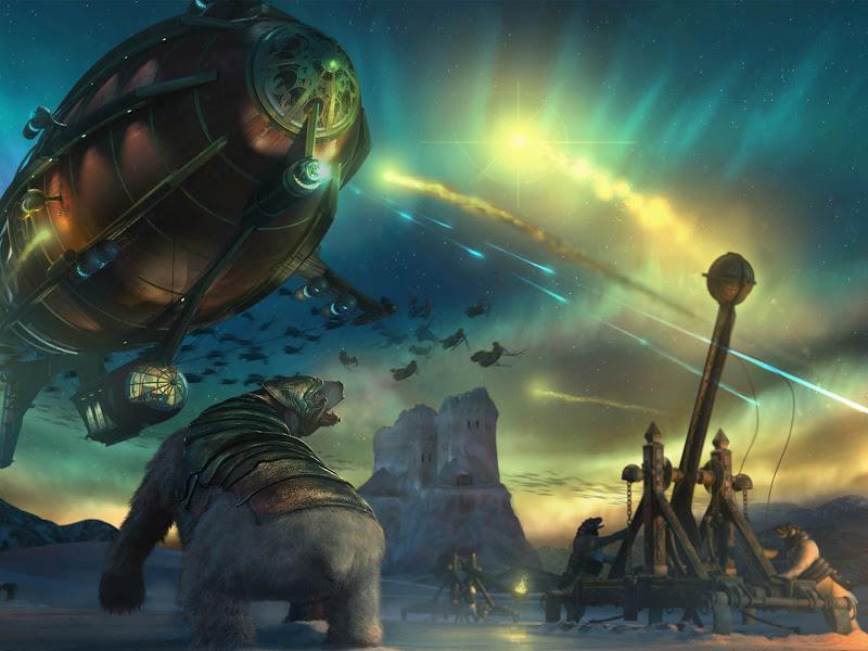 Aliens Attack, Fiction 1
